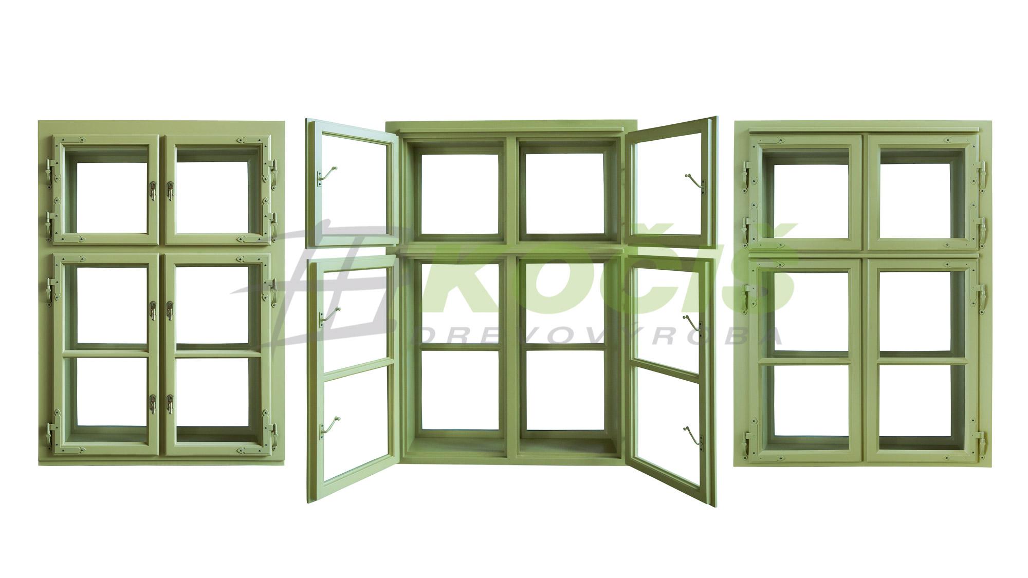 kastlové okná